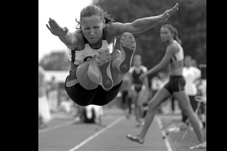 Long jump training at home
